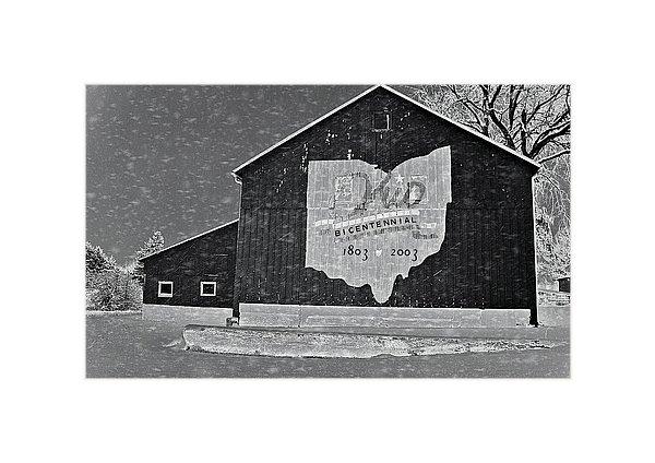 Dan Sproul - Ohio Barn In Winter