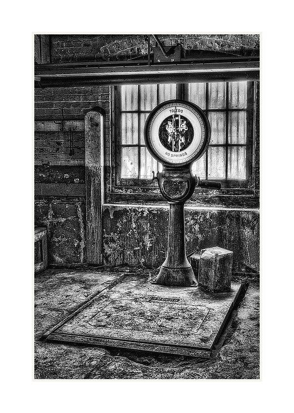 Susan Candelario - Vintage Toledo No Springs Scale BW II