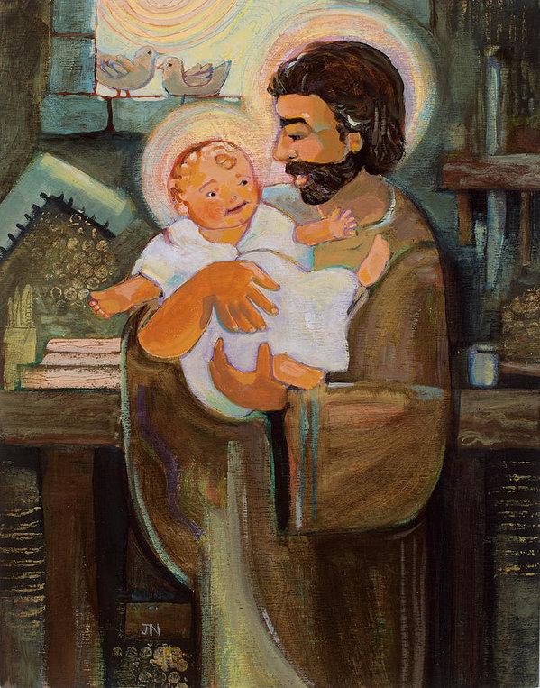 Jen Norton - St. Joseph and Baby Jesus