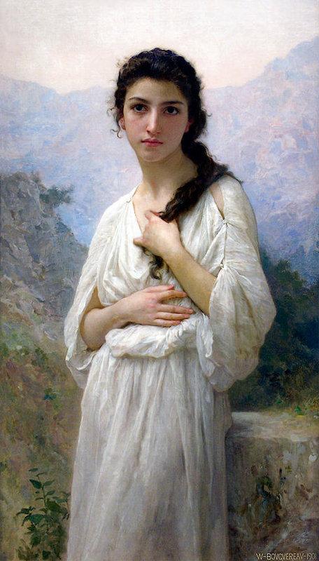 William-Adolphe Bouguereau - Meditation