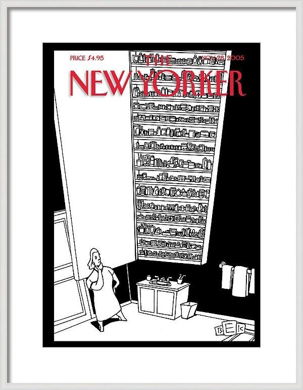 Bruce Eric Kaplan - New Yorker November 28th, 2005