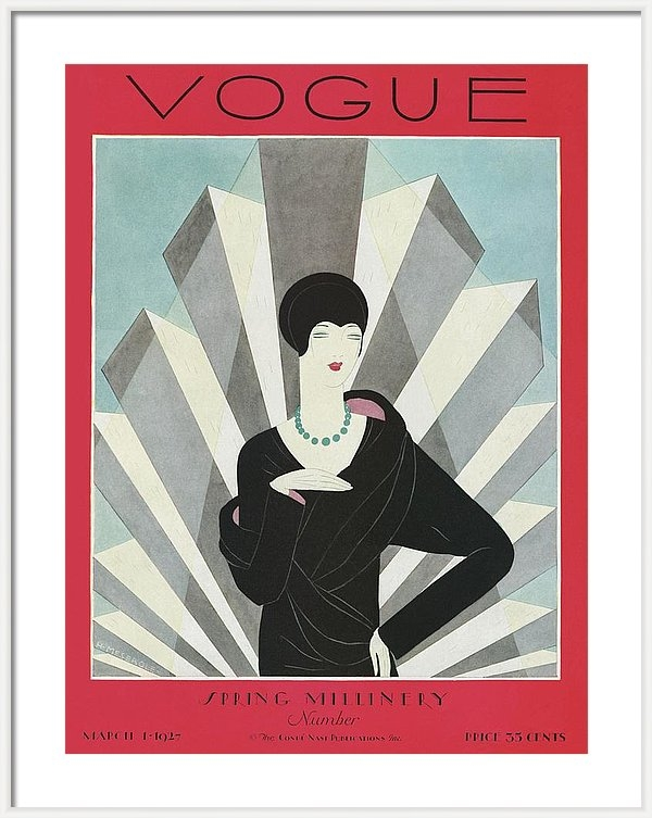 Harriet Meserole - A Vogue Magazine Cover Of A Wealthy Woman
