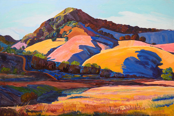 Jayne Schelden - Canyon Shadows Johnson Ranch Trail