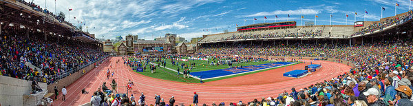 Justin Harris - Panoramic View of Franklin Field
