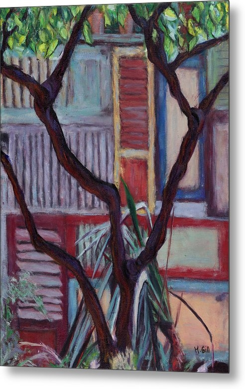 Michelle Gill - A wall of shutters