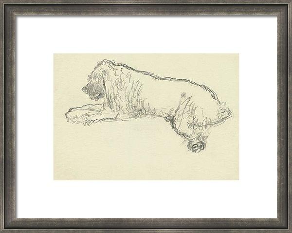 Carl Oscar August Erickson - An Illustration Of A Dog