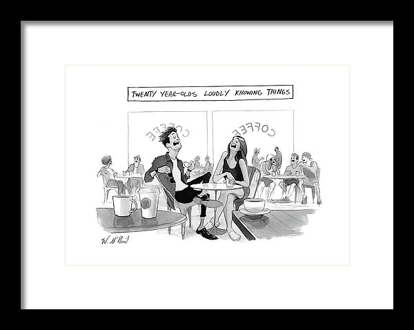 Will McPhail - New Yorker March 20th, 2017