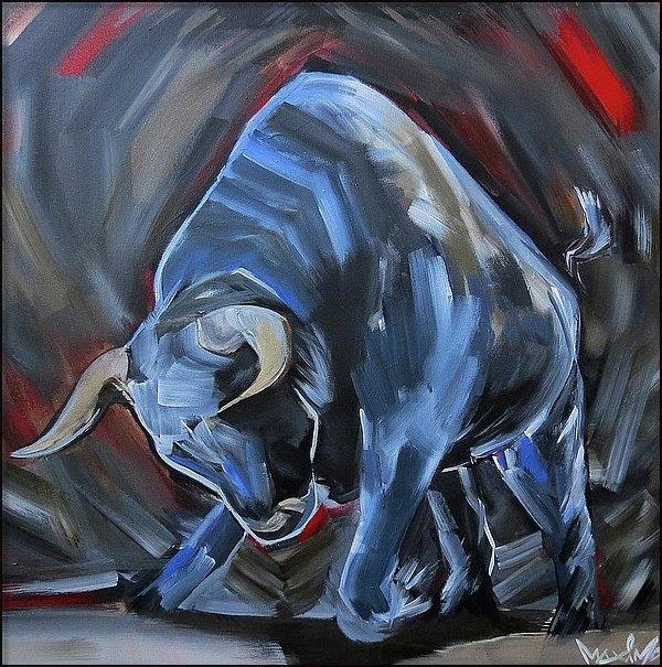 Dan Maximo - Blue Bull
