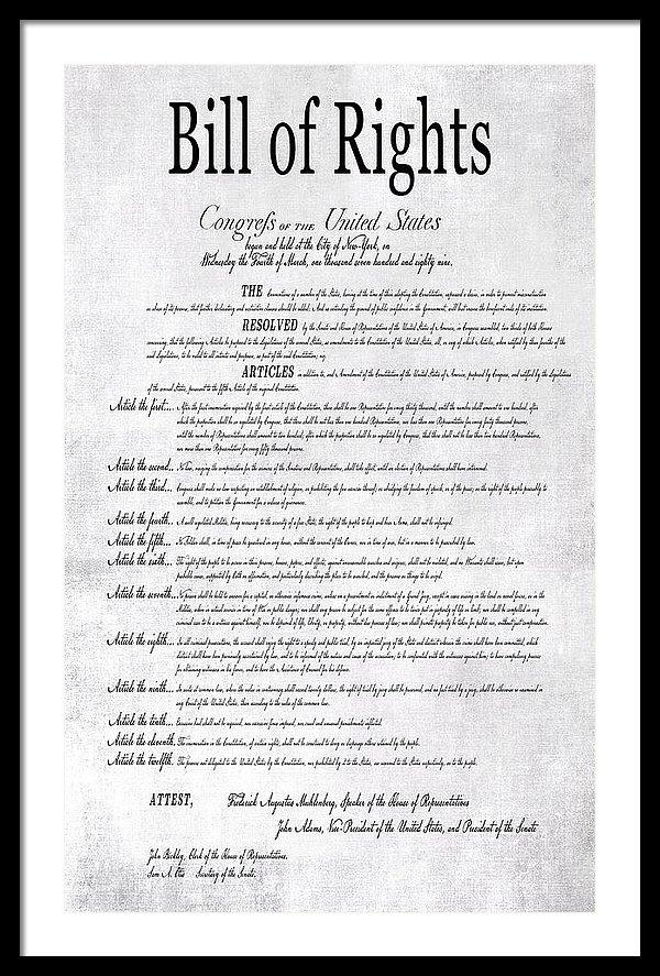 Daniel Hagerman - THE BILL of RIGHTS H K