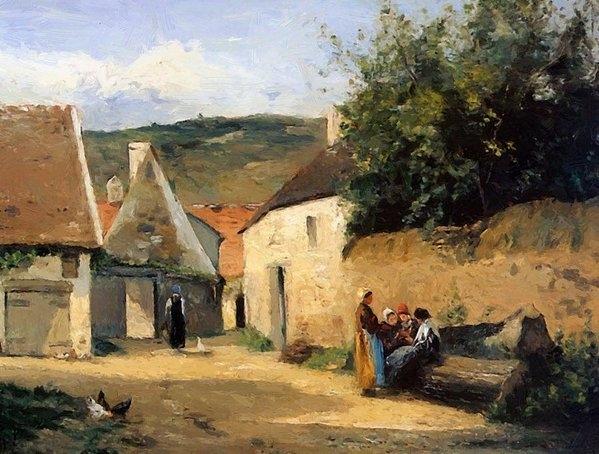 Pissarro Camille - Jacob Coin De Village
