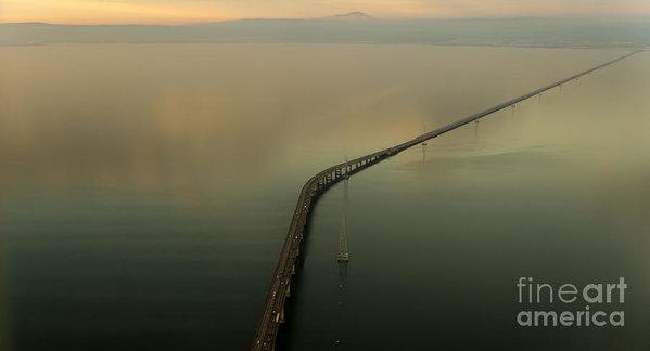 David Oppenheimer - San Mateo Bridge Aerial Photo
