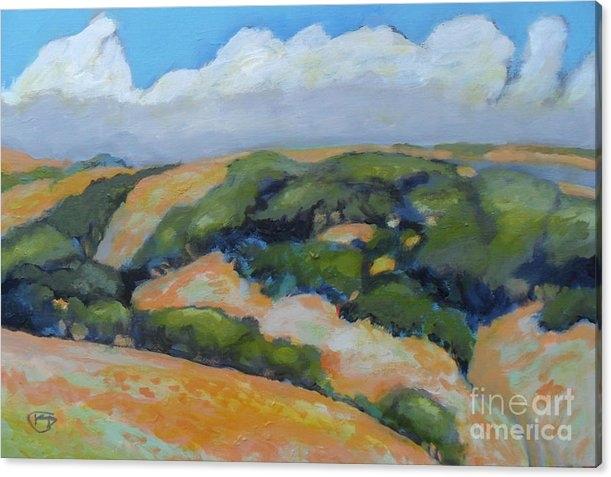 Kip Decker - Summer Clouds Over Foothills