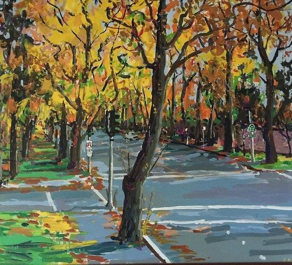 Pat Gray - Autumn on El Camino Real