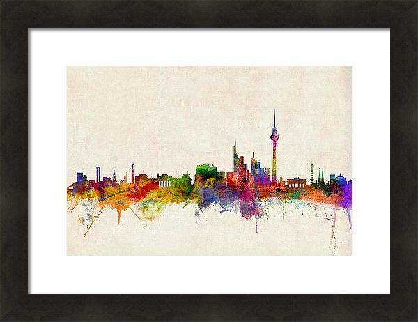 Michael Tompsett - Berlin City Skyline