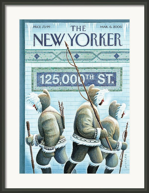 Eric Drooker - New Yorker March 6th, 2006