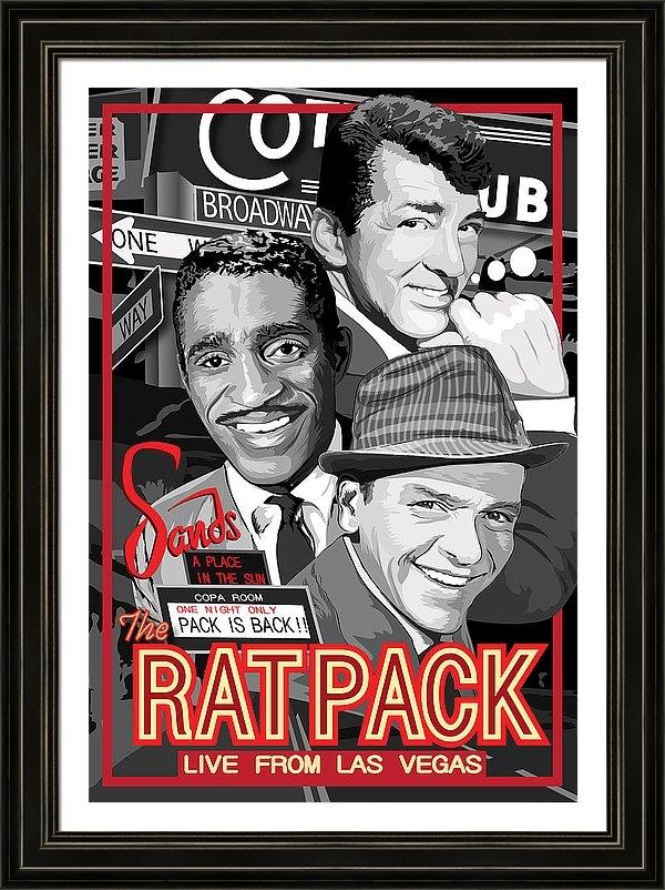 Dagmara Czarnota - The Rat Pack Poster
