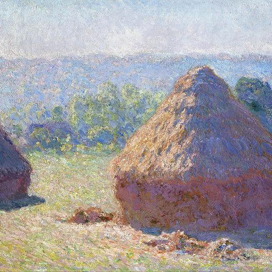 Claude Monet - Haystacks - end of Summer
