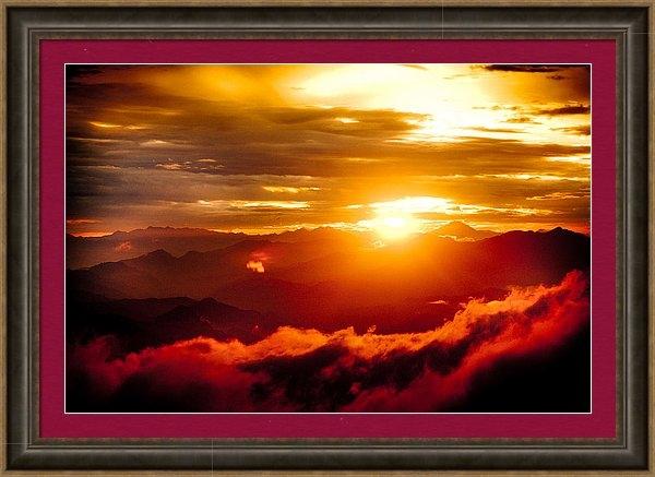 Raimond Klavins - Golden Sunset Himalayas Mountain Nepal