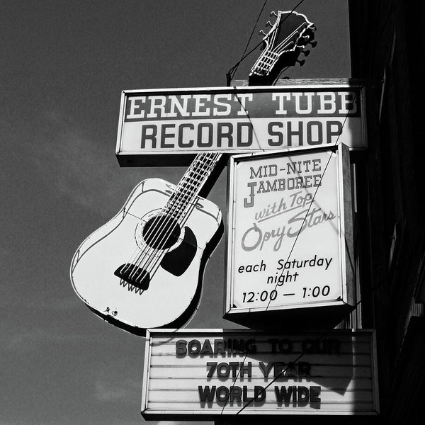 Linda Woods - Record Shop- by Linda Woods