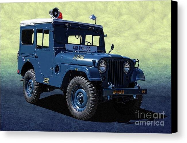 Nick Gray - U. S. A. F. Air Police Jeep