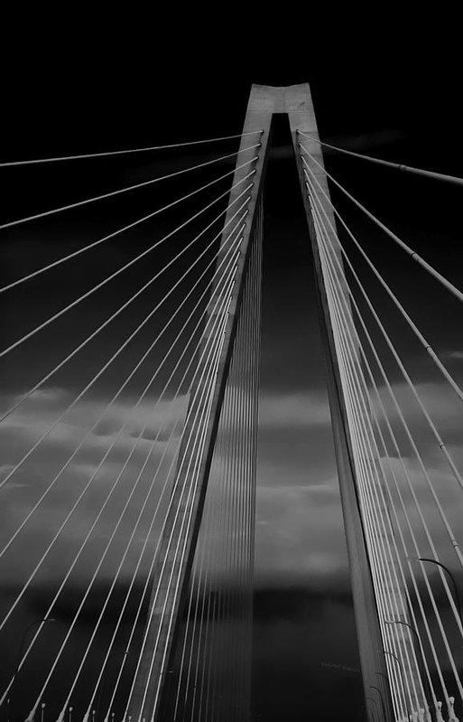 DigiArt Diaries by Vicky B Fuller - Arthur Ravenel Jr Bridge