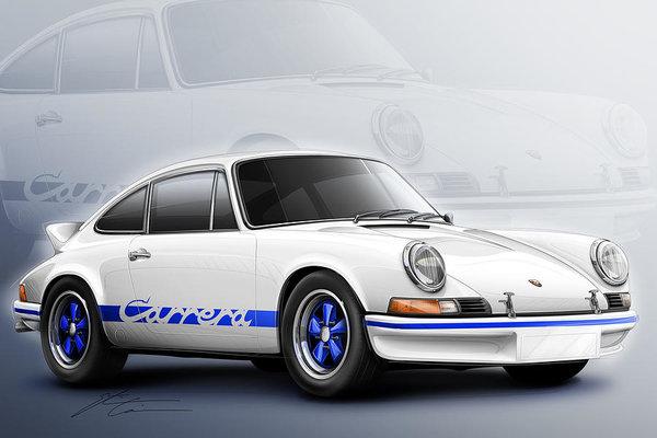 Etienne Carignan - Porsche 911 RS 1973