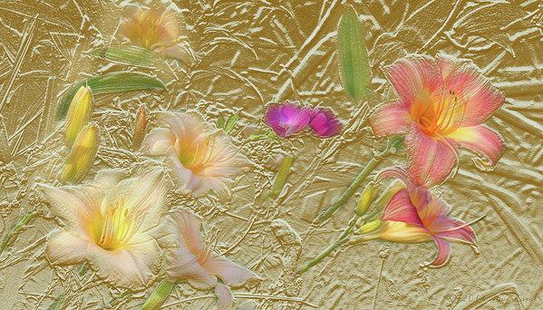 Steve Karol - Garden in Gold Leaf2