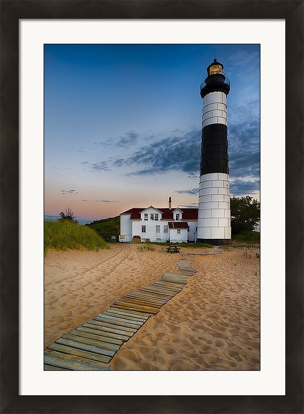 Big Sable Point Lighthouse by Sebastian Musial