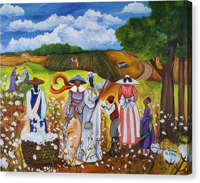 Diane Britton Dunham - Last Cotton Field