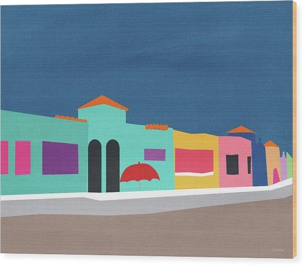 Linda Woods - Capitola Venetian- Art by Linda Woods