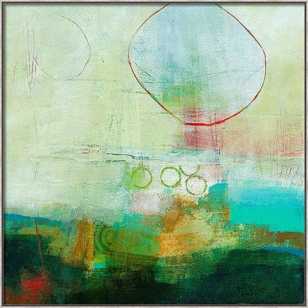 Jane Davies - Green and Red 6