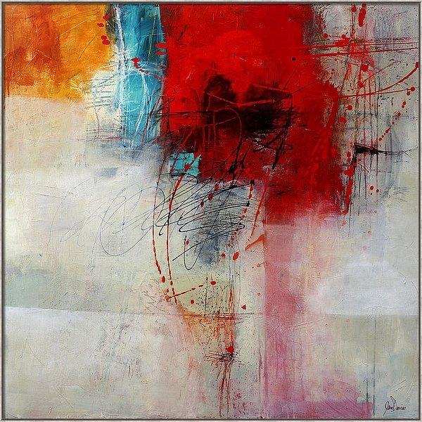 Jane Davies - Red Splash 1