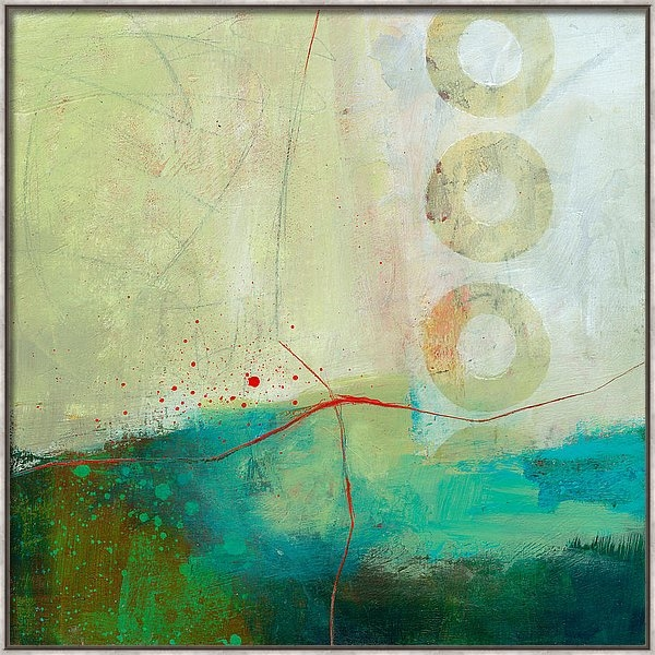 Jane Davies - Green and Red 2