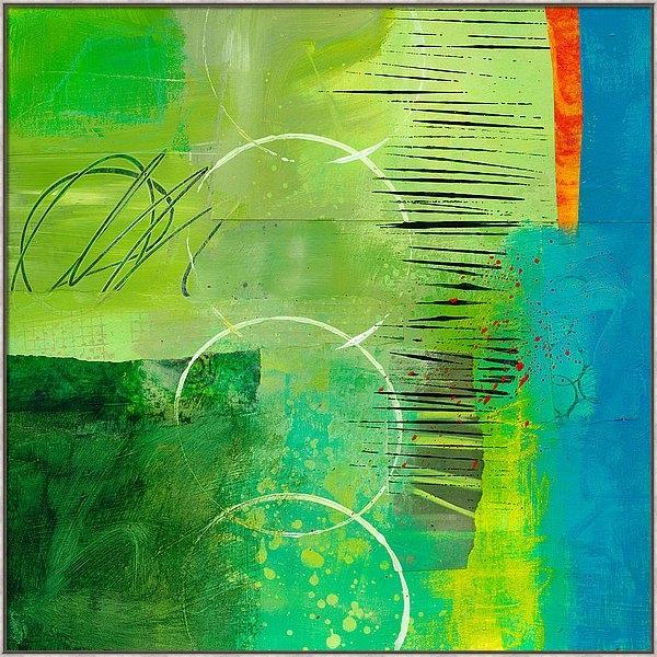 Jane Davies - Green and Red 5