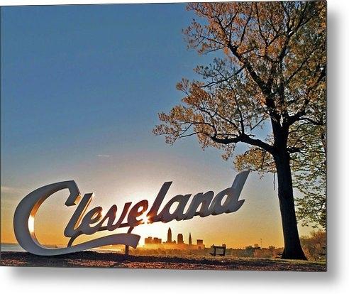 Denny Petkovsek - A Cleveland sunrise.