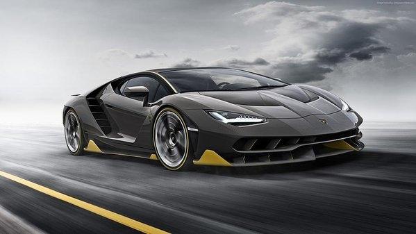 Emma Brown - Lamborghini Centenario