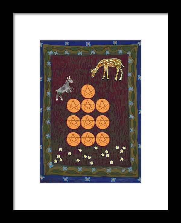 Sushila Burgess - Ten of Pentacles