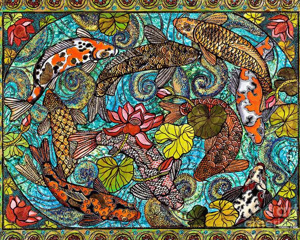 Melissa Cole - Lotus Koi Pond