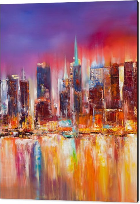 Manit - Vibrant New York City Skyline