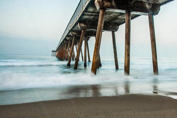 William  Carson Jr - Hermosa Beach Pier 1