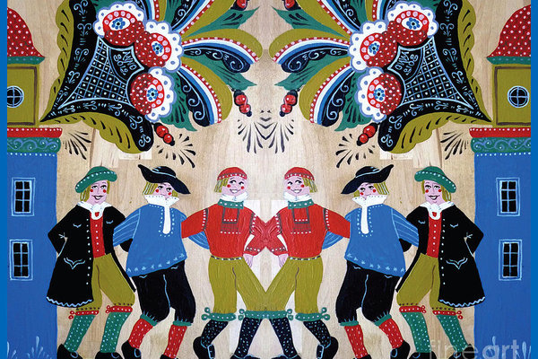 Leif Sodergren - Six Men Dancing