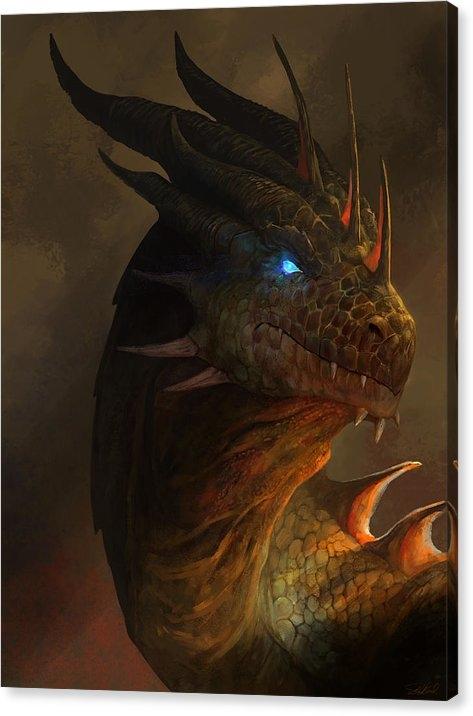 Steve Goad - Dragon Portrait