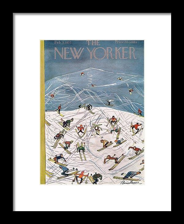 Ludwig Bemelmans - New Yorker February 5th, 1955