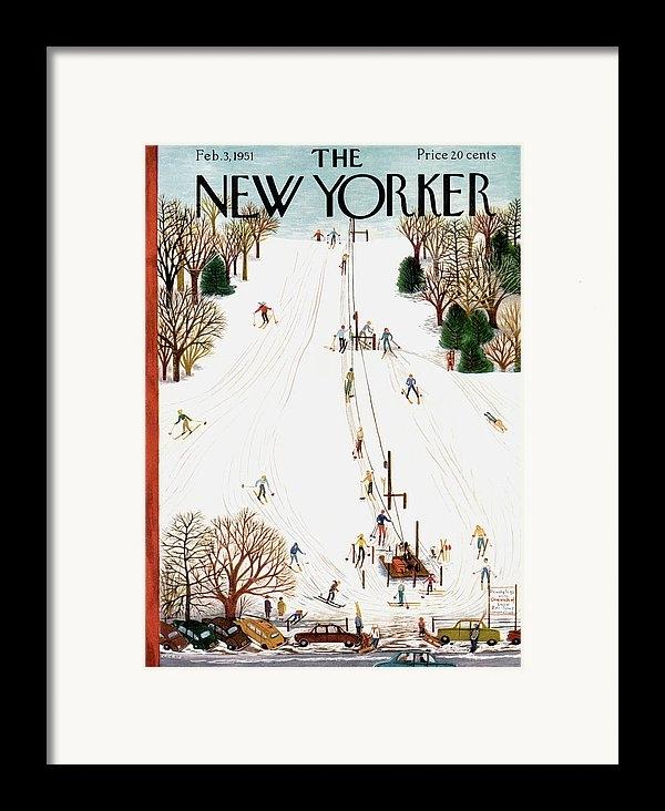 Ilonka Karasz - New Yorker February 3rd, 1951