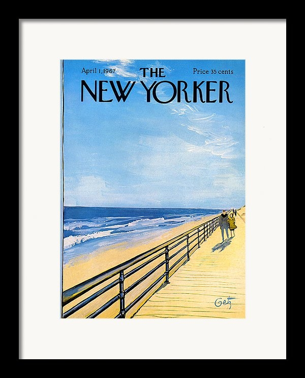 Arthur Getz - The New Yorker Cover - April 1st, 1967