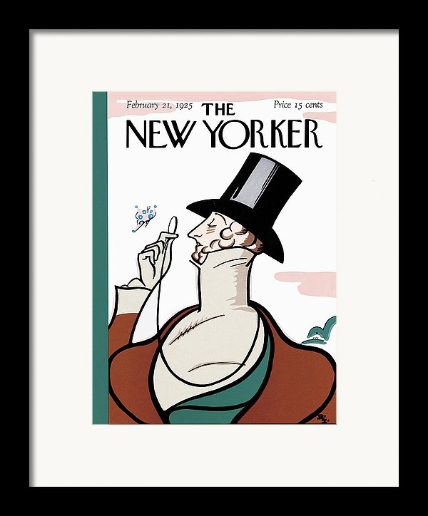 Rea Irvin - The New Yorker Cover - February 21st, 1925