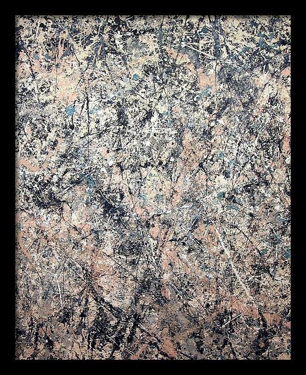 Cora Wandel - Pollock's Number 1 -- 1950 -- Lavender Mist