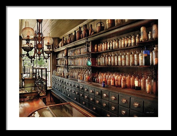 Mike Savad - Pharmacy - So many drawers and bottles