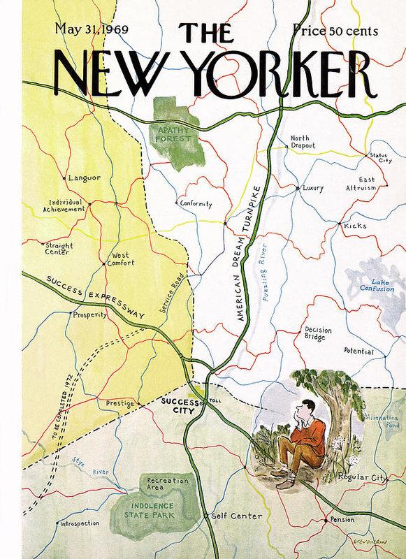 James Stevenson - New Yorker May 31st, 1969