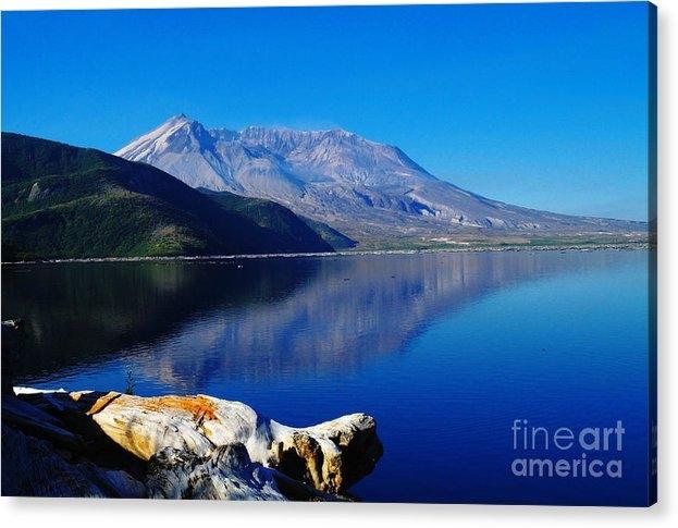 Jeff Swan - Mt St Helens Reflecting Into Spirit Lake